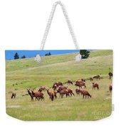 Colorado Elk Herd Weekender Tote Bag