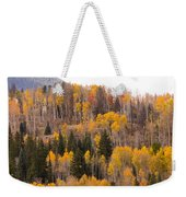 Colorado Fall Foliage Weekender Tote Bag