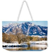 Colorado Flatirons 2 Weekender Tote Bag