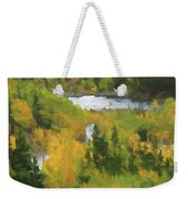 Colorado Lake And Colors Weekender Tote Bag