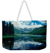 Colorado Lake Weekender Tote Bag