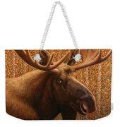 Colorado Moose Weekender Tote Bag by James W Johnson