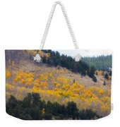 Colorado Mountain Aspen Autumn View Weekender Tote Bag