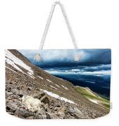 Colorado Mountain Goat Weekender Tote Bag