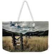 Colorado Mountain Meadow Weekender Tote Bag