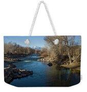Colorado Mountain Stream Weekender Tote Bag