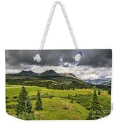 Colorado Mountains After Summer Rain Weekender Tote Bag