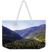 Colorado Mountains Weekender Tote Bag