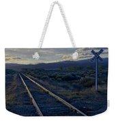 Colorado Railroad Crossing Weekender Tote Bag