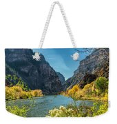 Colorado River And Glenwood Canyon Weekender Tote Bag by Jemmy Archer