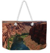 Colorado River At Glen Canyon Dam Weekender Tote Bag