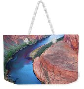 Colorado River Bend Weekender Tote Bag