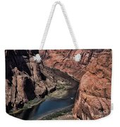 Colorado River Horseshoe Bend Color  Weekender Tote Bag
