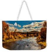 Colorado River In Autumn Weekender Tote Bag