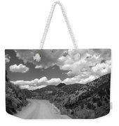 Colorado Shelf Road 1 B-w Weekender Tote Bag