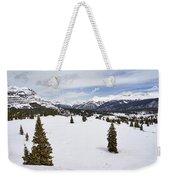 Colorado Snow Scene Weekender Tote Bag