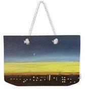 Colorado Spring Night Skyline Weekender Tote Bag