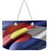 Colorado State Flag Weekender Tote Bag