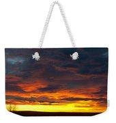Colorado Sunrise February Weekender Tote Bag