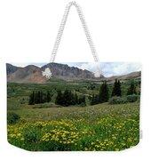 Colorado Wildflower Spectrum Weekender Tote Bag