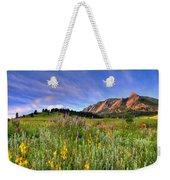 Colorado Wildflowers Weekender Tote Bag