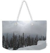Colorado Winter Peace Weekender Tote Bag