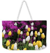 Colorful Spring Weekender Tote Bag