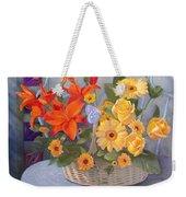 Colordance Of Summer Weekender Tote Bag
