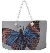 Colored Butterfly Weekender Tote Bag