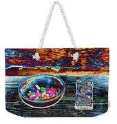 Colored Chalk Weekender Tote Bag