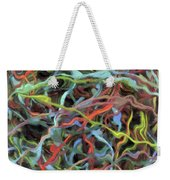 Colored Dream Abstract Weekender Tote Bag