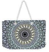 Colored Flower Zentangle Weekender Tote Bag
