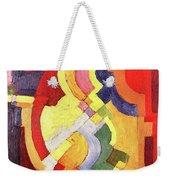 Colored Forms IIi By August Macke Weekender Tote Bag