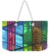 Colored Glass 10 Weekender Tote Bag