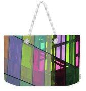 Colored Glass 11 Weekender Tote Bag