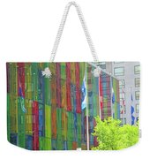 Colored Glass 12 Weekender Tote Bag