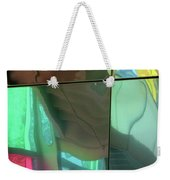 Colored Glass 14 Weekender Tote Bag