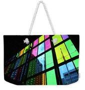 Colored Glass 3 Weekender Tote Bag