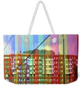 Colored Glass 6 Weekender Tote Bag