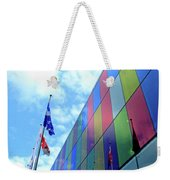 Colored Glass 7 Weekender Tote Bag