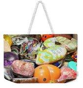 Colored Hearts Weekender Tote Bag
