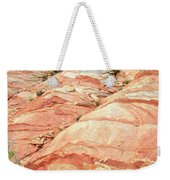 Colored Hill In Valley Of Fire Weekender Tote Bag