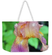 Colored Iris  Weekender Tote Bag