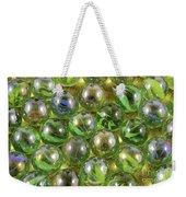 Colored Marbles Weekender Tote Bag