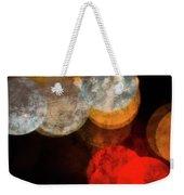 Colored Moons 1 Weekender Tote Bag