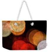 Colored Moons 3 Weekender Tote Bag