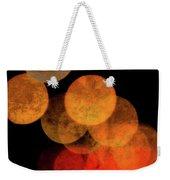 Colored Moons 4 Weekender Tote Bag