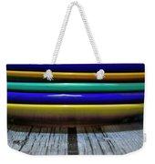 Colored Plates 1 Weekender Tote Bag
