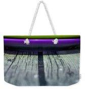 Colored Plates 4 Weekender Tote Bag