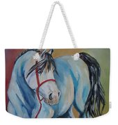 Colored Pony Weekender Tote Bag